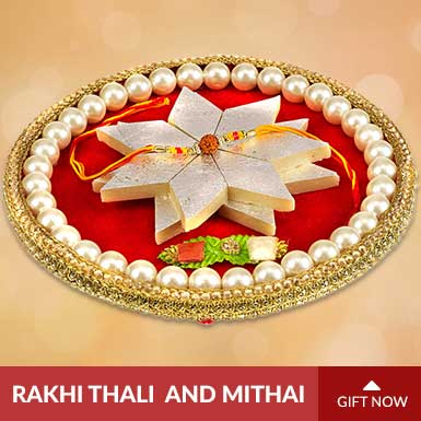 Rakhi Thalis and Mithai