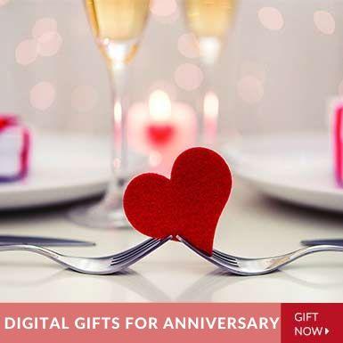 Anniversary Gift Vouchers