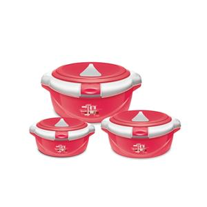 Casserole Sets-Milton One Touch Jr. Casserole Gift Set (3 pcs)