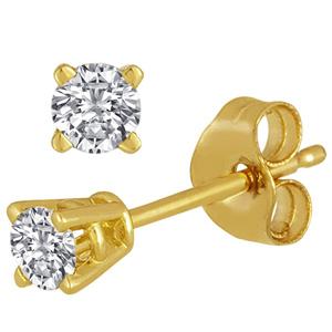 FacetzInspire Real Diamond 92.5 Sterling Silver Earring