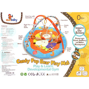 Sunbaby Candy Pop Bear Playmat