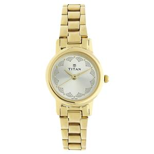 Titan Grey Dial Analog Watch for Women - 917YM12