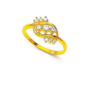 Kiara Sterling Silver Classic Nine Stone Ring KIR0016