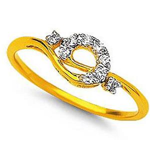 Kiara Sterling Silver Fancy Shape Daily Wear Ring KIR0021