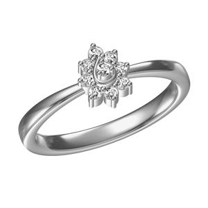 Kiara Sterling Silver Sadhana Ring 2158W