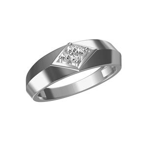 Kiara Sterling Silver Pooja Ring 302W