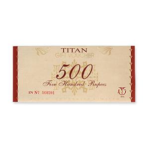 Watches Gift Voucher-Titan Gift Card