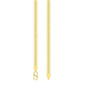 Gold Chains-Avsar 18k Gold 18 Inch Shiva Chain