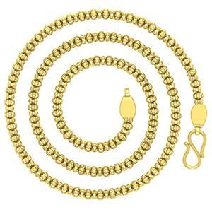 Avsar 18k Gold 24 Inch Bambato Chain