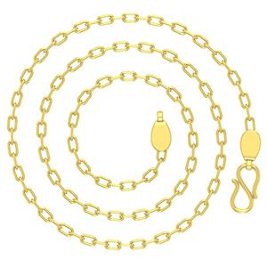 Gold Chains-Avsar 18k Gold 24 Inch Belcher Chain
