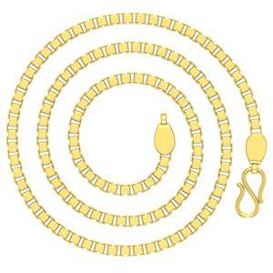 Gold Chains-Avsar 18k Gold 24 Inch Box Chain