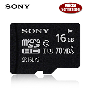 Sony 64 GB Micro SD Card Class 10 / 70MBS