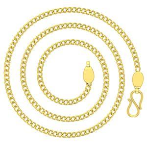 Avsar 18k Gold 24 Inch Curb Chain