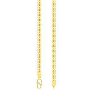 Gold Chains-Avsar 18k Gold 24 Inch Shiva Chain