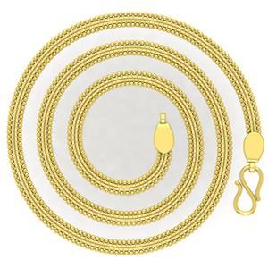 Avsar 18k Gold 24 Inch Shrin Chain