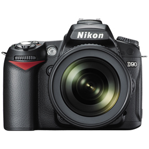 Nikon D90 with AF-S 18-105mm VR Kit Lens