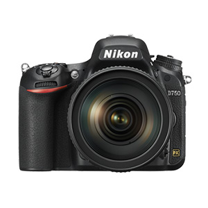 Nikon D750 with 24-120mm VR Lens