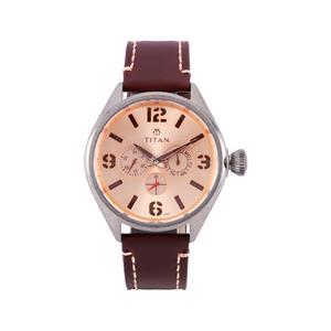 Titan Purple Analog Men's Watch 9478QL04J