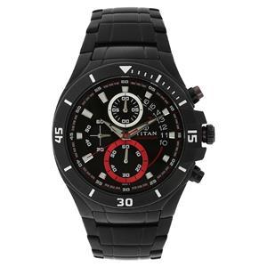 Titan Octane Chronograph Men's Watch - NF1631KM03