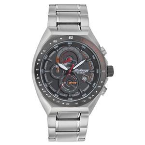 Titan Black Dial Chronograph Strap Men's Watch - 90048KM03J