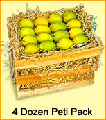 Mango Peti 200 grams each - 4 Dozen