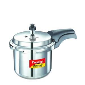 Prestige Deluxe(S.S) Cookers - 5.5 ltr