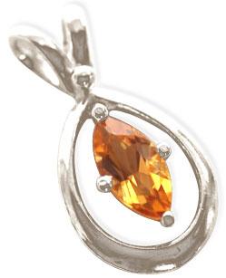 Precious Stone Pendant-Topaz Pendant