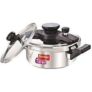 Prestige clip on cooker (S.S) - 3ltr