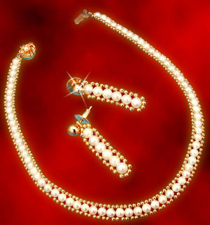 Pearl Sets-Anuradha Combination