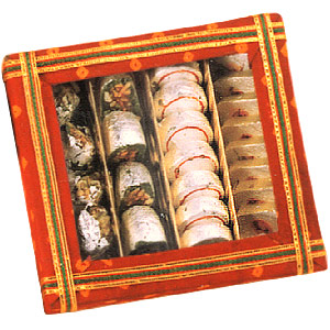 Assorted Mithai-Assorted Choukdi