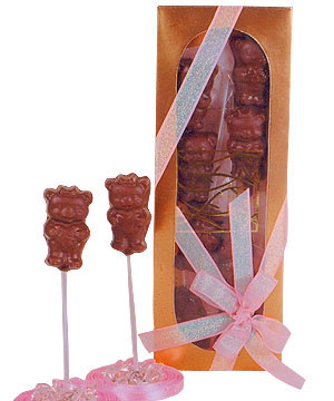 Fantasie-Teddy Bear Lollipop
