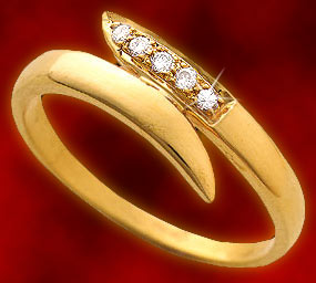 Diamond-Sleek Diamond Ring
