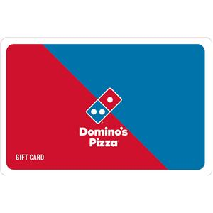 Fast Food Gift Vouchers-Dominos Gift Voucher