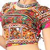 Toran Style Kaudi Work Chaniya Choli