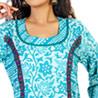 Batik Effect Cotton Kurti