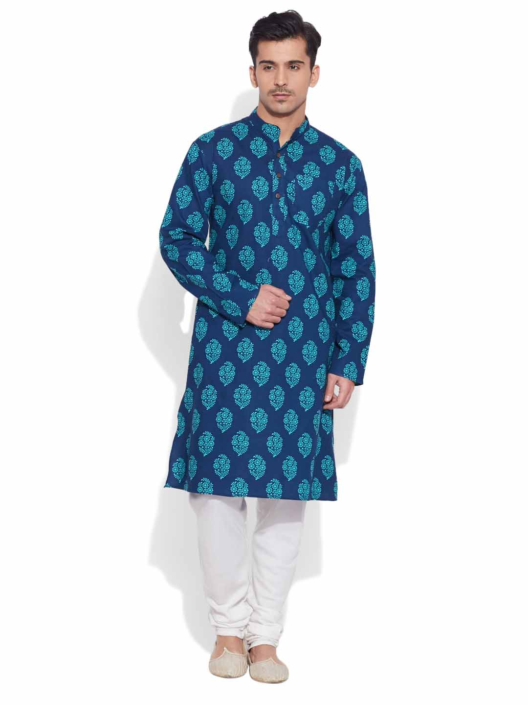 Kurtas-Cotton Long Kurta