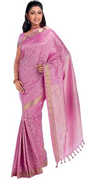Brocade Silk Saree