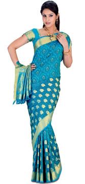 Kanchipuram Brocade Silk Saree