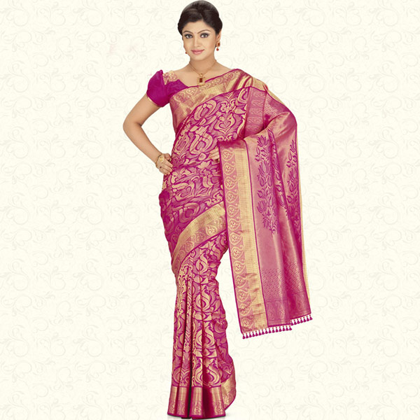 Pure Jari Brocade Saree