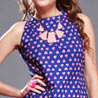 Blue Cotton Dress for Women