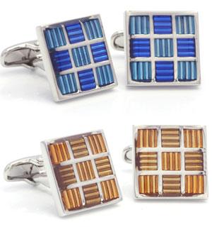 Orosilber's Enamel Cufflinks