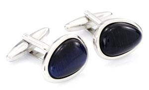 Orosilber's Stone Cufflinks
