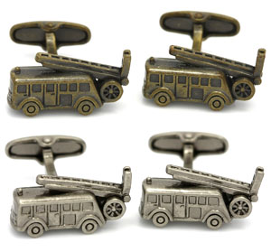 Orosilber's Fun Novelty Cufflinks