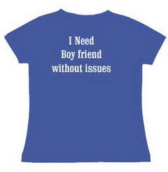 I Need Boy Friend Slogan Printed T Shirt For Women India