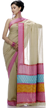 Traditional Print Saree