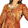 Natural Touch Paisley Design Embroidered Kurti