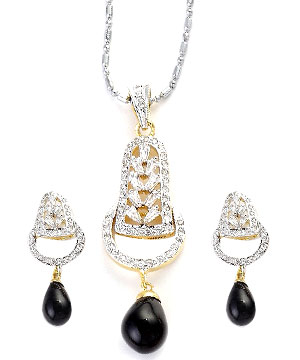 Changeable Beads Pendant Set with Sizzling Looks