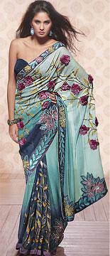 Royal Looking Decorative Saree