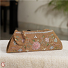 Earthy Brown Clutch