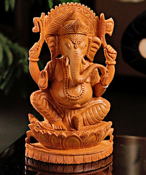 Finely Carved Ganesha